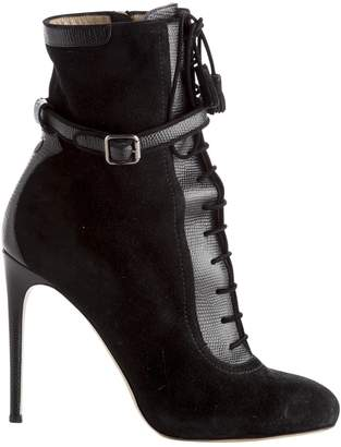 Paul Andrew Black Suede Boots