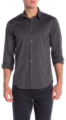 Theory Sylvain Percise Long Sleeve Woven Shirt