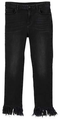 MANGO Frayed edges jeans