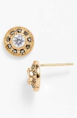 Judith Jack Pave Stud Earrings