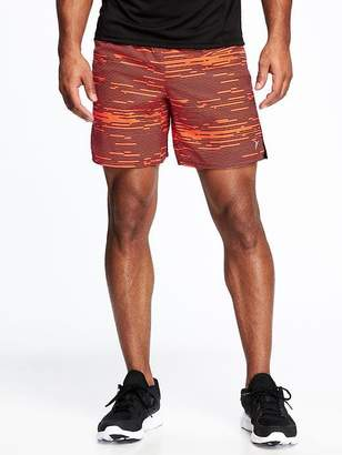 "Old Navy Go-Dry Printed Run Shorts for Men (7"")"