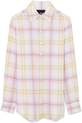 Marc Jacobs Plaid Button Down Shirt in Yellow Multi
