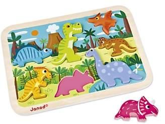 Janod Chunky Wooden Dinosaur Puzzle