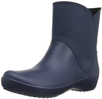 Crocs Women's Rainfloe Bootie Rain Boot
