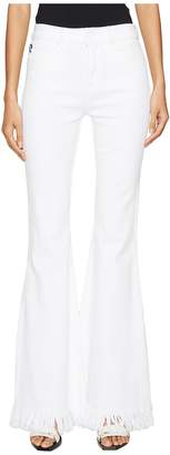 Love Moschino Denim Fringe Flare Jeans Women's Jeans