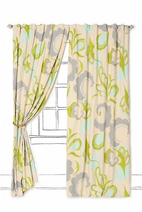 Mod Paisley Curtain