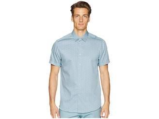 Ted Baker Narnar Short Sleeve Geo Print Shirt