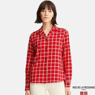Uniqlo Women's Soft Flannel Shirt (ines De La Fressange)