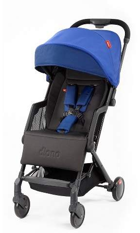 Diono Traverze Plus Lightweight Compact Travel Stroller - Blue