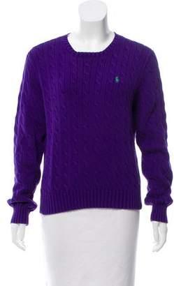 Ralph Lauren Cable Knit Long Sleeve Sweater
