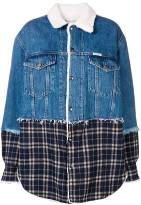 Couture Forte Dei Marmi Trinity mesh denim jacket