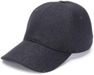 Alexander McQueen glitter cap