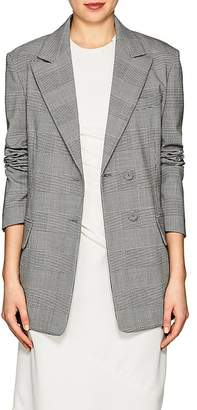 Proenza Schouler Women's Checked Stretch-Wool Two-Button Blazer