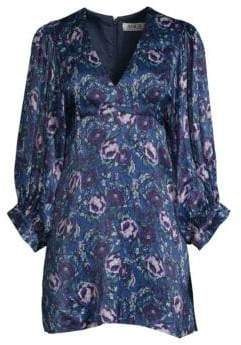 DAY Birger et Mikkelsen AMUR Steph Floral Puff-Sleeve Mini Dress