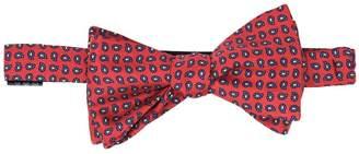 Serà Fine Silk - Red Silk Paisley Bow Tie