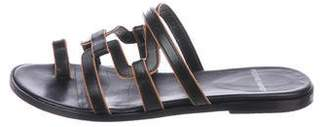 Pierre Hardy Leather Slide Sandals