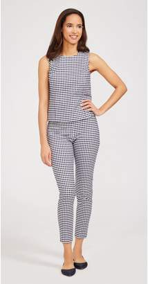 J.Mclaughlin Portman Pants in Gingham