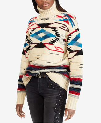 Polo Ralph Lauren Southwestern Turtleneck Sweater