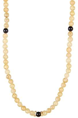 März The Sandstone CZ Bead Necklace
