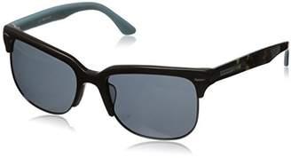 Hang Ten Gold Classic Wayfarer HTG1006 C3 Polarized Round Sunglasses