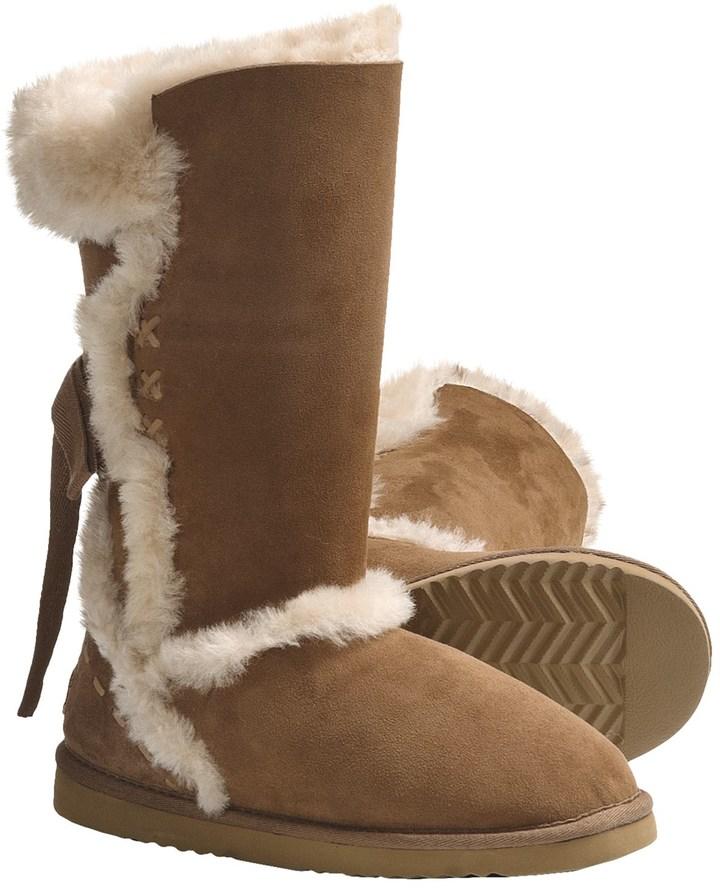 Lamo @Model.CurrentBrand.Name Big Bear Sheepskin Boots - Shearling Lining (For Women)