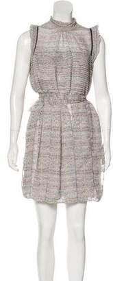 Peter Som Silk Printed Dress