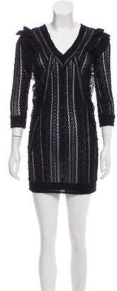 IRO 2016 Open-Knit Dress