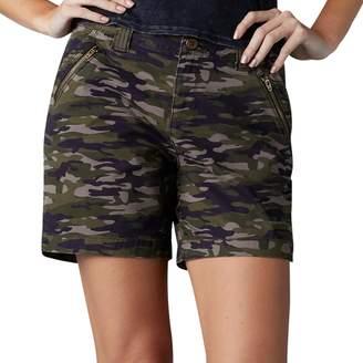 Lee Women's Zippered Twill Shorts