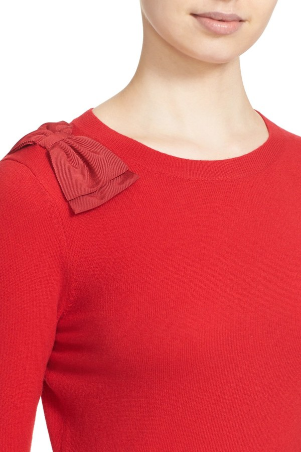 Ted Baker London &Callah& Bow Detail Crewneck Sweater 4