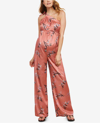 Jessica Simpson Maternity Wide-Leg Jumpsuit
