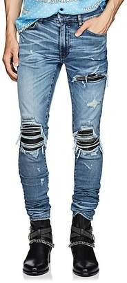 Amiri Men's MX1 Inset Slim Jeans - Lt. Blue