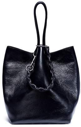 Alexander Wang alexanderwang 'Roxy' stud leather large bucket bag