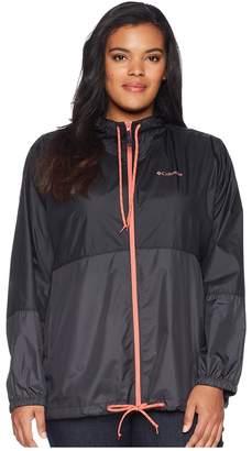 Columbia Plus Size Flash Forwardtm Windbreaker Women's Coat