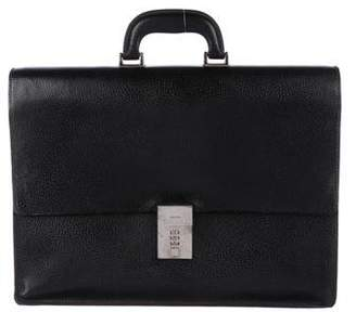 Gucci Cinghiale Leather Briefcase