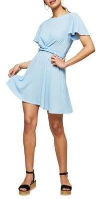 Miss Selfridge Twist Front Skater Dress