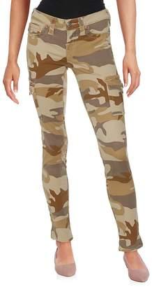 True Religion Women's Skinny Camouflage Jeans