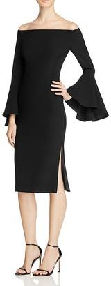 Bardot Solange Off-The-Shoulder Dress $119 thestylecure.com