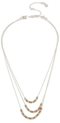 Kenneth Cole New York Delicates Geometric Bead Multi-Row Necklace Set