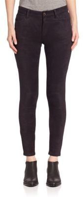 Joe's Sueded Icon Ankle Skinny Jeans $198 thestylecure.com