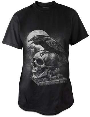 Alchemy of England Poe's Raven Mens T Shirt (XL)