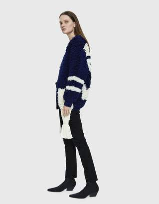 Off-White Off White Carpet Sporty Knit Cardigan