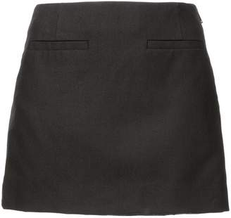 Vera Wang structured mini skirt