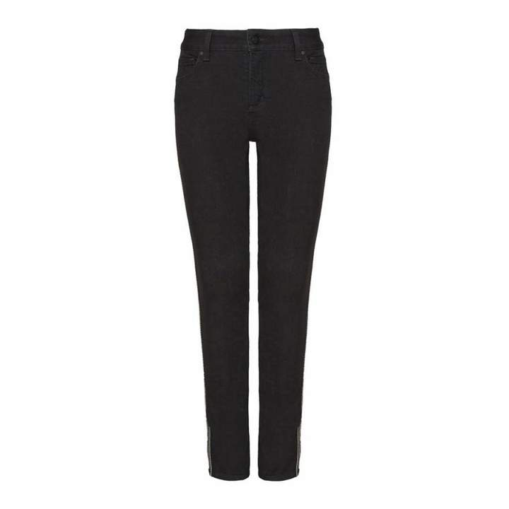 Black Rinse Alina Ankle Jeans