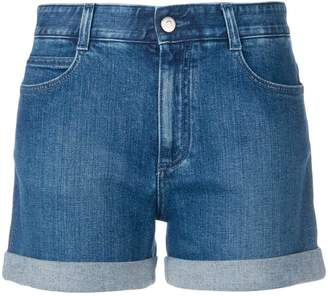 Stella McCartney turned up hem denim shorts