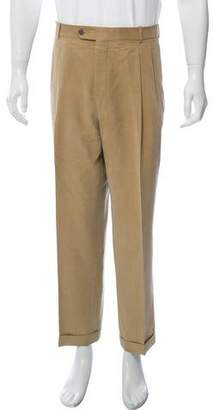 Burberry Woven Pleated Pants