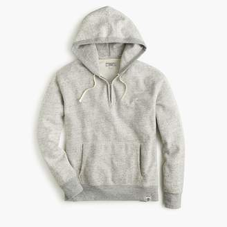 J.Crew Wallace & Barnes fleece half-zip hoodie