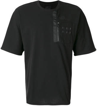 The North Face zipped detail T-shirt