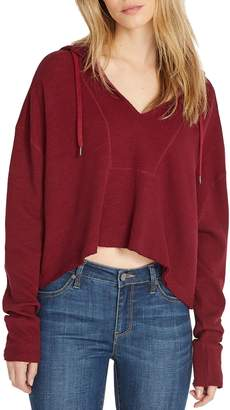 Buffalo David Bitton Cropped Cotton-Blend Hoodie