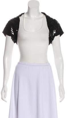 Dolce & Gabbana Sequin Embellished Shrug