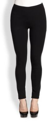 Lafayette 148 New York Punto Milano Riding Leggings $298 thestylecure.com